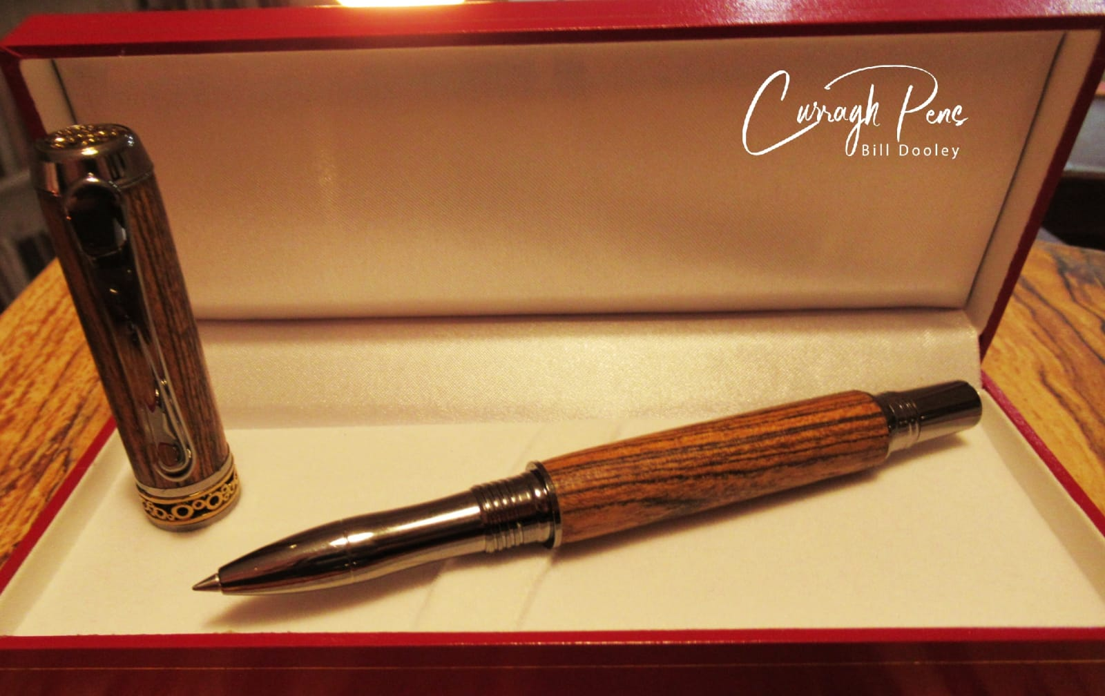 Roller Ball (High End) Pen Cocobolo