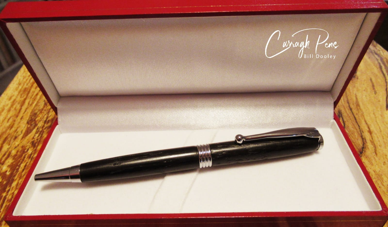 Streamline Pen Bog Oak