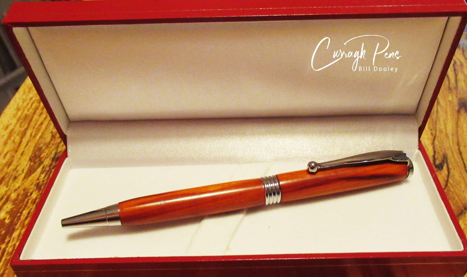 Streamline Pen Red Sandalwood