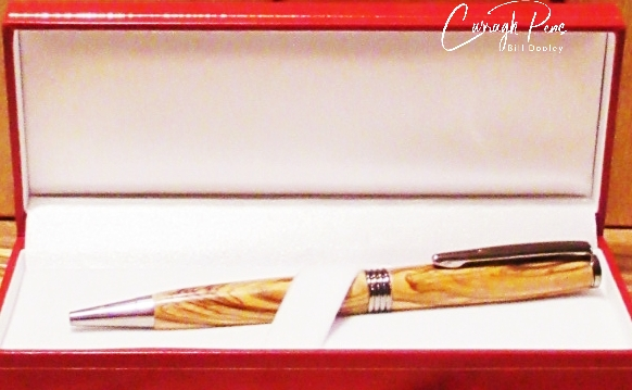 Streamline Pen Olive Wood
